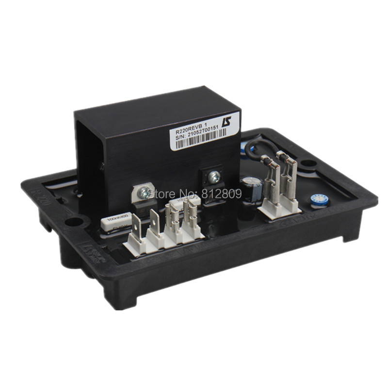 Alternator high quality generator spare part voltage regulator automatic AVR R220 free shipping