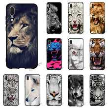 Colorful Classic Cool lion tiger Wolf Phone Cover for Huawei Mate 20 Pro Case 10 P8 P20 P10