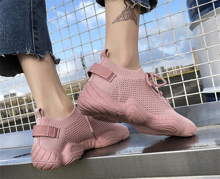 Women Vulcanized Mesh Sneakers 8