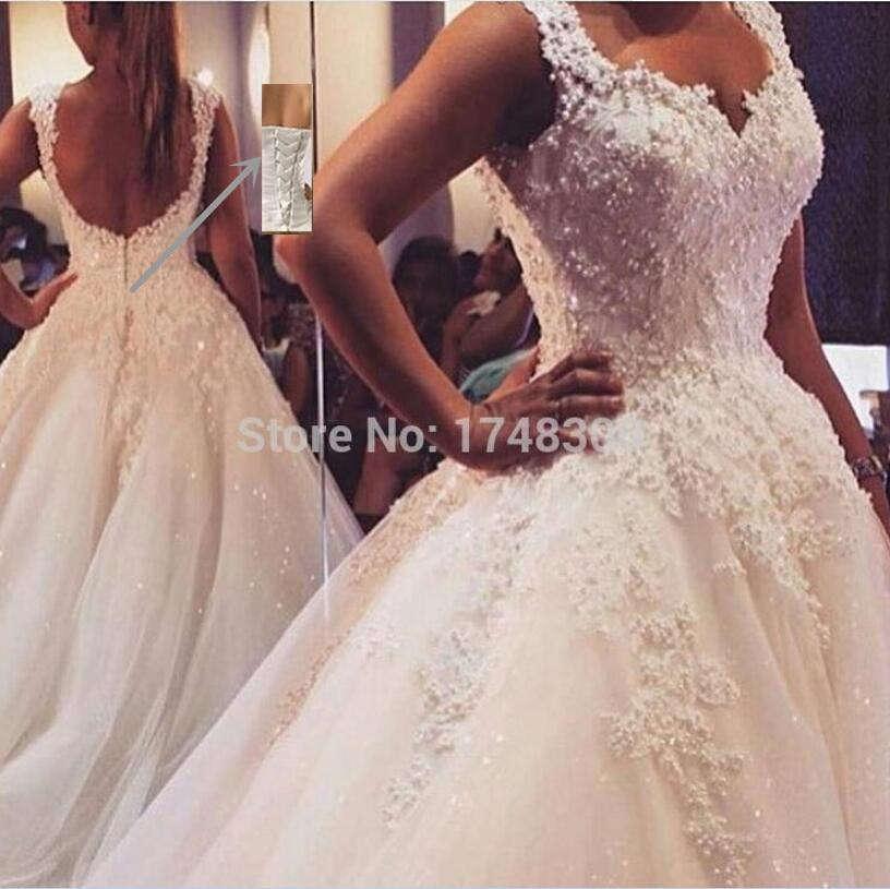 Wedding Dresses Real : Buy ball gown real images vestido de novia tulle wedding dress