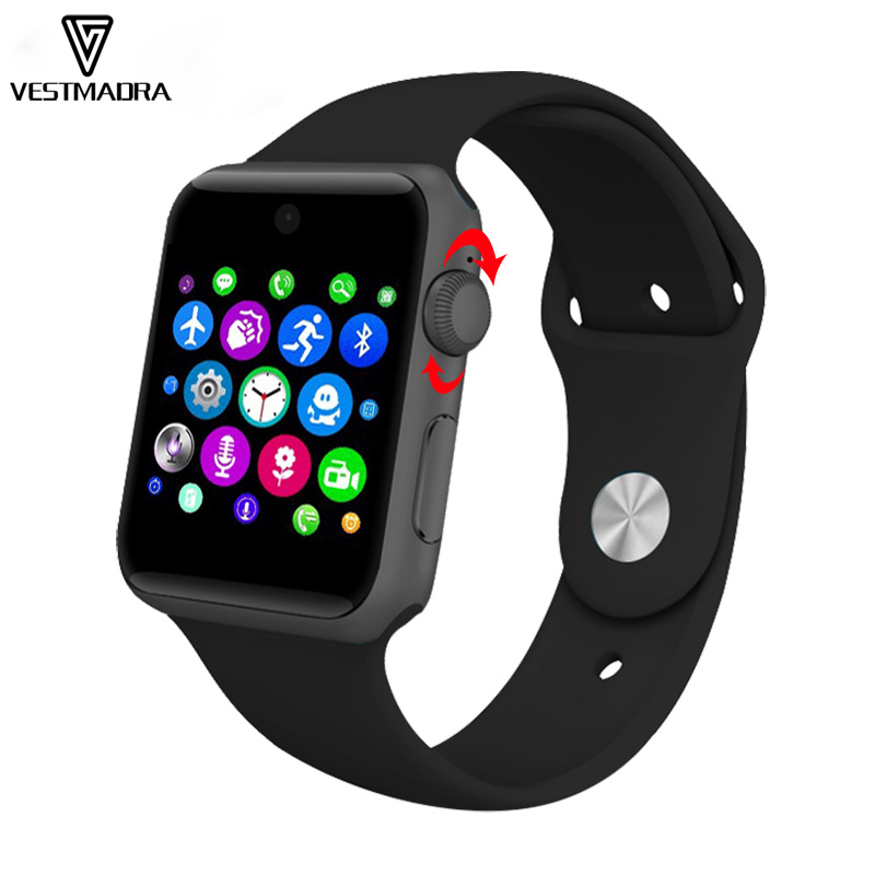 VESTMADRA DM09 Bluetooth Smart Watch Sync Notifier Support Sim Card Wearable Devices Smartwatch for Apple iphone Android Phone smartwatch gt08 smart watch bluetooth clock sync notifier support sim card bluetooth connectivity for ios iphone android phone
