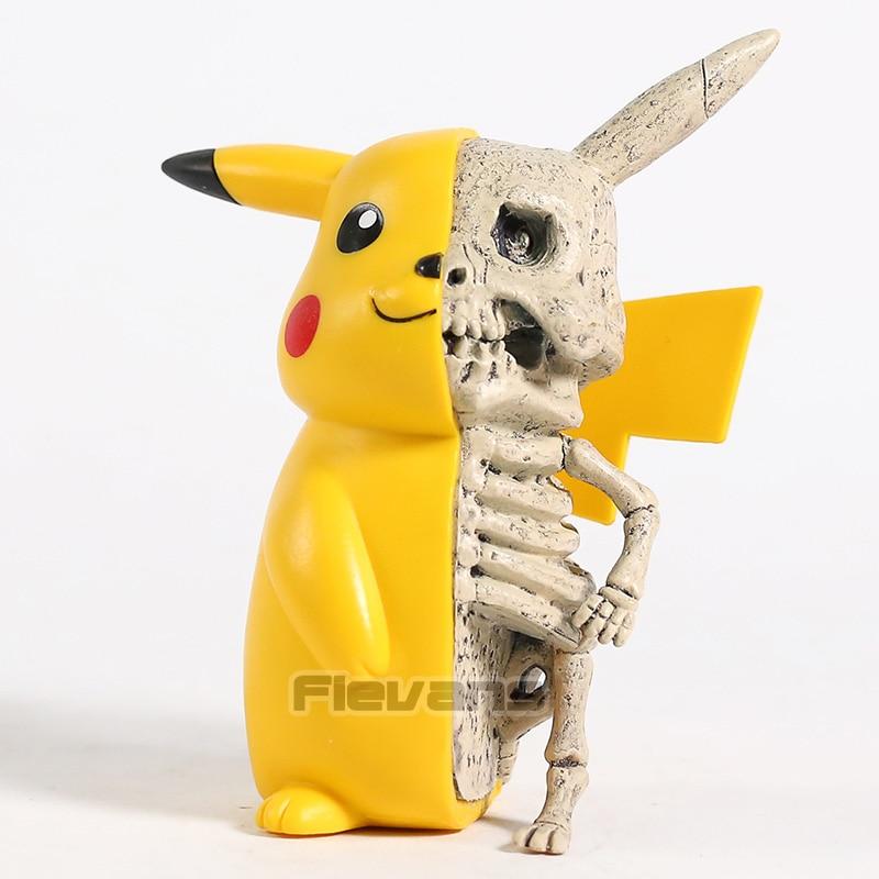 Anime monstro esqueleto dissecção figura pvc collectible brinquedo modelo engraçado