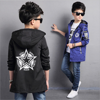 Children S Jacket Denim Boys Hooded Jean Jackets Girls Kids Clothing Baby Coat Casual Outerwear 2017