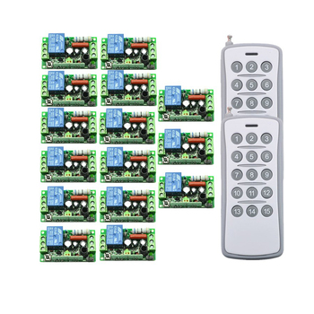 220V 10A 315MHZ/433Mhz 1 CH Wireless Remote Control Switch teleswitch Radio Control Switch 1CH Relay Learning Code