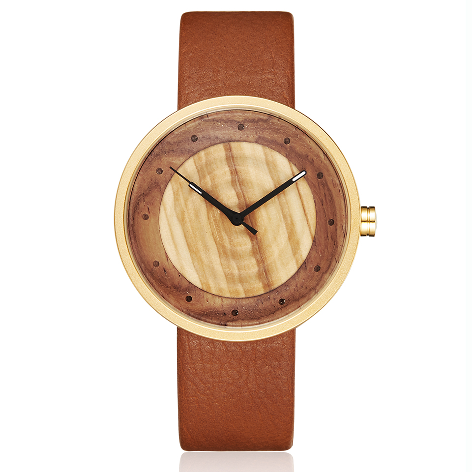Women Men Bamboo Wood Watch Man Ladies Wooden Wrist Watches Leather Retro Couple Casual Clock Reloj De Madera Relogio Masculino