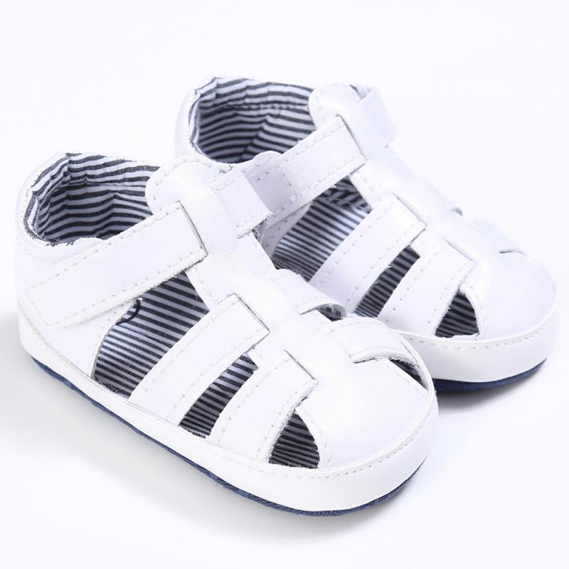 2018 New Toddler Infant Baby Boys Summer Crib Walking Sandals Infant New Soft Shoes Clog ...