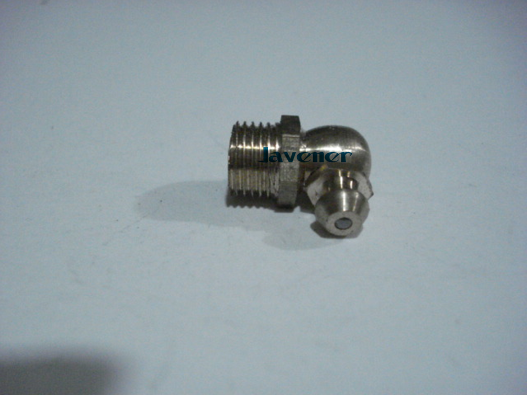 LOT 10 M5 Metric male Thread 90 degrees Brass Grease Zerk Nipple Fitting For machine tool greaseing accessory