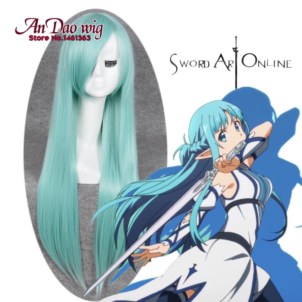Tremendous Aliexpress Com Buy Sword Art Online Yuuki Asuna Cosplay 85Cm Hairstyle Inspiration Daily Dogsangcom