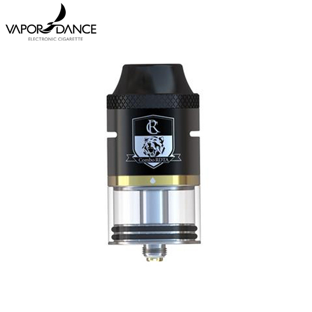 100% Original IJOY Combo RDTA Atomizer Side Filling System 6.5 ml Capacity RDTA Atomizer From Vapordance