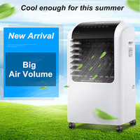 65W Mute Air Conditioning Fans Remote Cool Fan 15 Hours Time Automatic Energy Saving Purification Filter