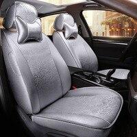 Custom/algodão tampa de assento do carro Para Mitsubishi Lancer Outlander Pajero Eclipse Verada Zinger asx I200 styling acessórios almofada