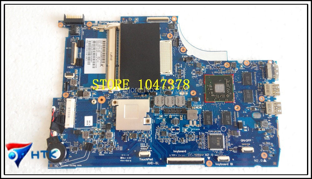 Wholesale laptop MOTHERBOARD FOR HP ENVY17 720578-501 6050a2555101-mb-a02 100% Work Perfect 720578 501 720578 001 for hp envy touchsmart 15 15 j laptop motherboard amd 6050a2555101 mb a02 radeon hd8550 notebook systembo