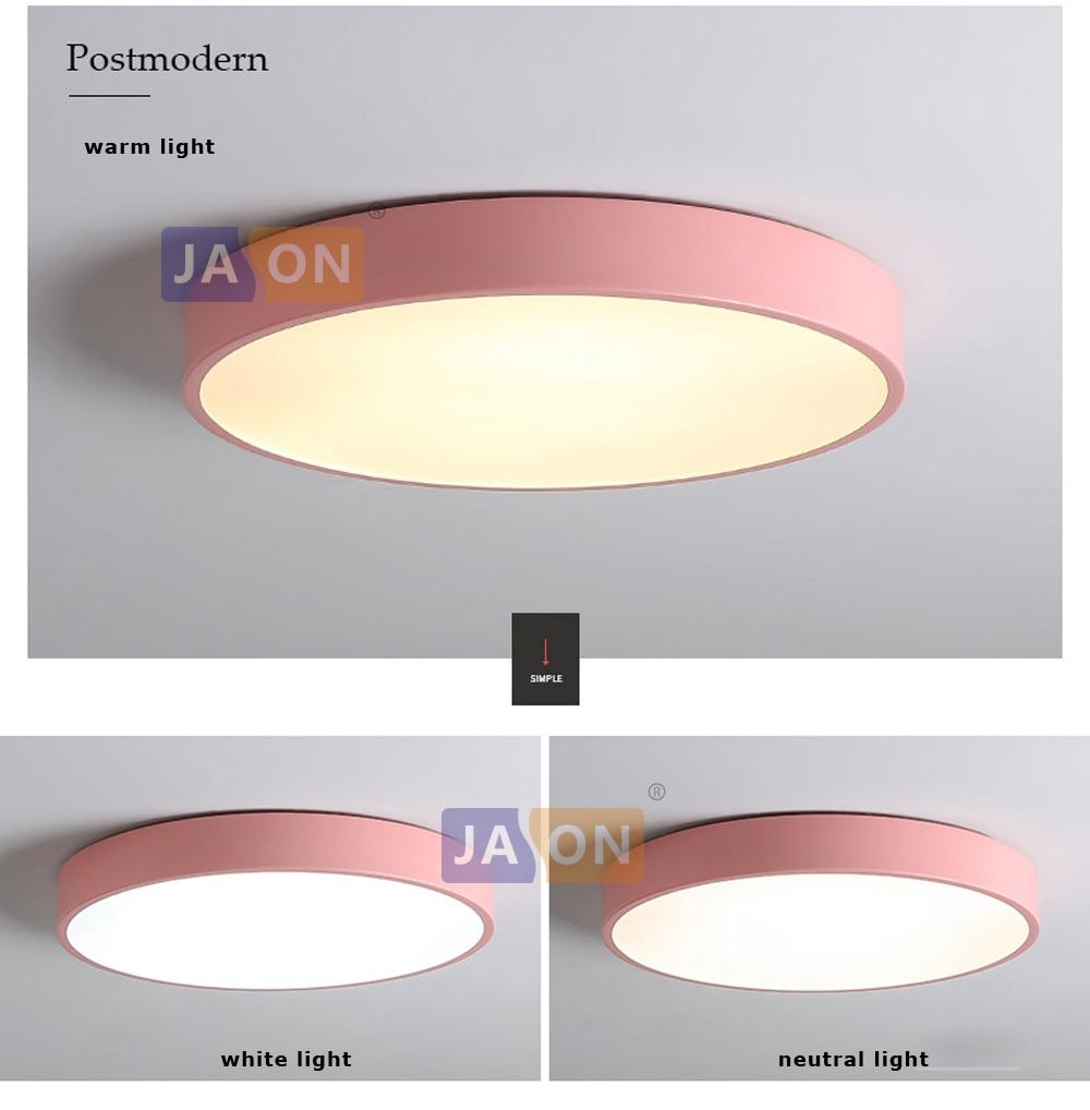 HTB1Jj7eXGSs3KVjSZPiq6AsiVXaS LED Modern Acryl Alloy Round 5cm Super Thin LED Lamp.LED Light.Ceiling Lights.LED Ceiling Light.Ceiling Lamp For Foyer Bedroom