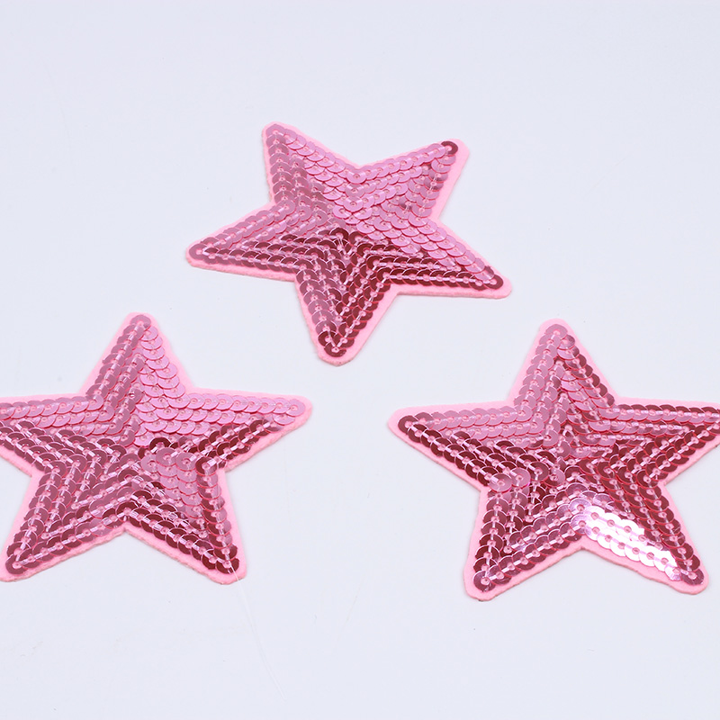 10Pcs//Lot Star Embroidery Sew Iron On Patch Badge Clothes Applique Bag Fabric