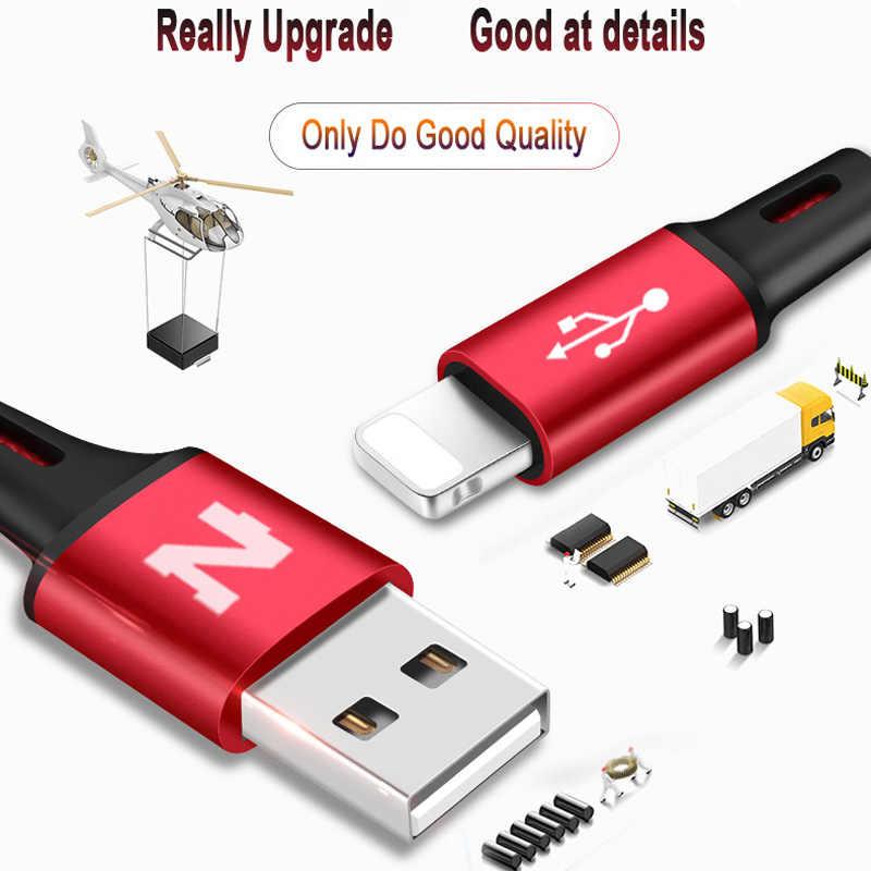 نوهون 3 في 1 نوع C 8Pin مايكرو USB كابل آيفون 8X7 6 6S زائد iOS 10 9 8 سامسونج نوكيا USB شحن سريع كابلات الحبل