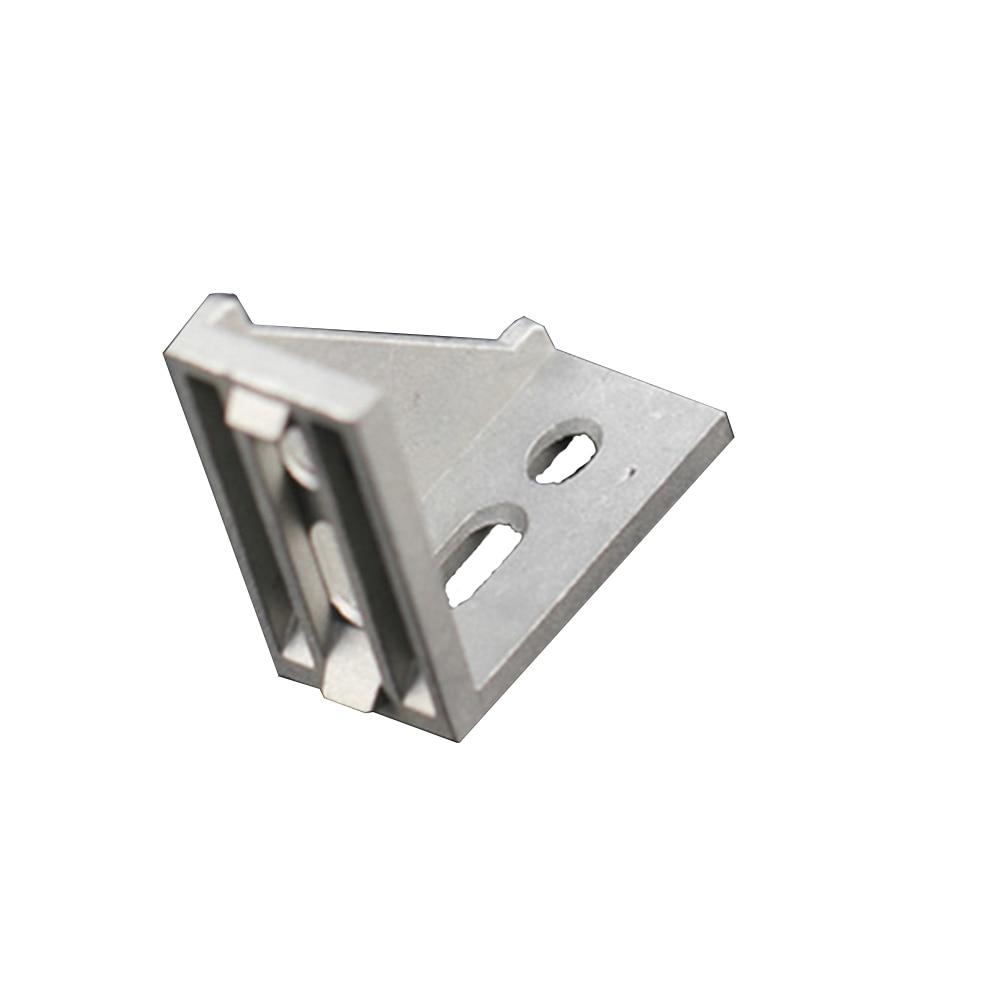1Pcs 3060 29x58x58mm European Corner Fitting Angle Aluminum 30 X 60 L Connector Bracket Fastener Industrial  Profile
