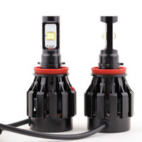 1 par 2 PCS 24 W / lâmpada 3000LM Auto Cree LED H11 / 9005 / H8 / 9006 faróis do carro lâmpada 6000 - 6500 K lâmpada à prova d ' água DC12-24V