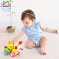 Прекрасные Музыкальные Brinquedos Bebe Пресс Червь функции с музыкой/свет Baby Toys для Бесплатная Доставка Huile Toys 997 Ползучая Червь