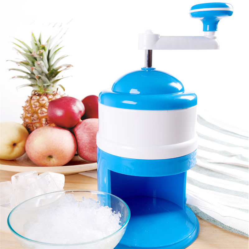 320ML Mini Snow Manual Crushed Ice Machine Ice Crusher Ice Shaver Machine Snow Cone Maker Household Ice Crushers Shavers jiqi household snow cone ice crusher fruit juicer mixer ice block making machines kitchen tools maker