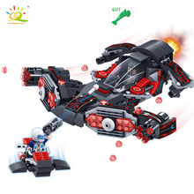 353pcs Star Warships Spaceship Model Building Blocks Bricks Figures Compatible Legoe Military Police Toys For Children Gifts(China)
