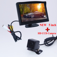 New Arrival 5 Inch 800 X 480 TFT LCD Screen Car Rear View Camera Monitor 520TVL