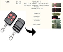 CAME TOP432NA / TOP434NA Garage Door/Gate Remote Control Replacement/Duplicator