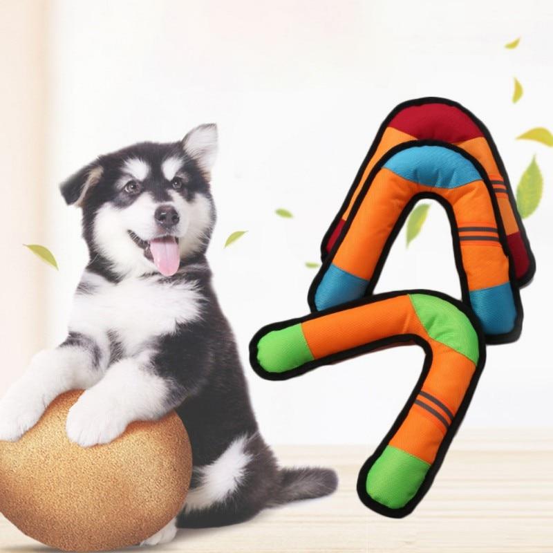V Форма вытачки игрушка собака подготовки Бумеранг любимая интересны интерактивные игрушки для животных
