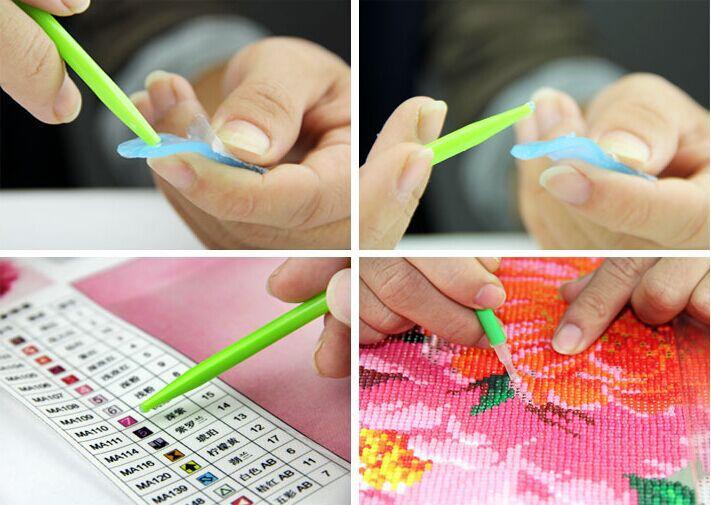 алмазная вышивка цветы доставка из Китая