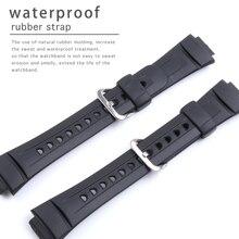 Silicone gel esportes corrida pulseiras de relógio para casio G 2900 série à prova dwaterproof água borracha esporte silicone pulseira acessório