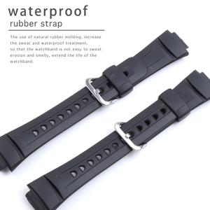 Image 1 - Silika jel spor yarış saat kordonları Casio G 2900 serisi su geçirmez kauçuk spor silikon kayış Watchband bilezik aksesuarı