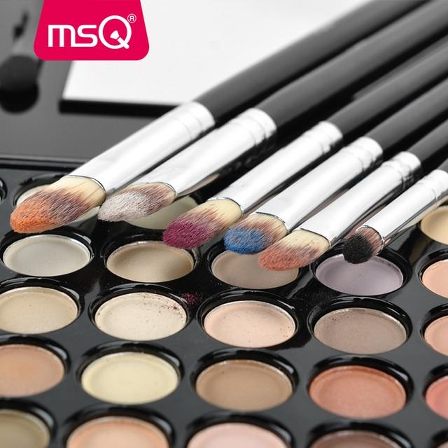 MSQ 6pcs Eyeshadow Makeup Brushes Set Professional Eye Brush Eye Shadow Blending Make Up Brush Soft Synthetic Hair 1