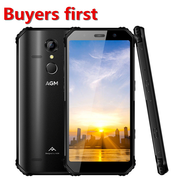 Original AGM A9 teléfono resistente 3GB 32GB IP68 5400mAh impermeable 5,99