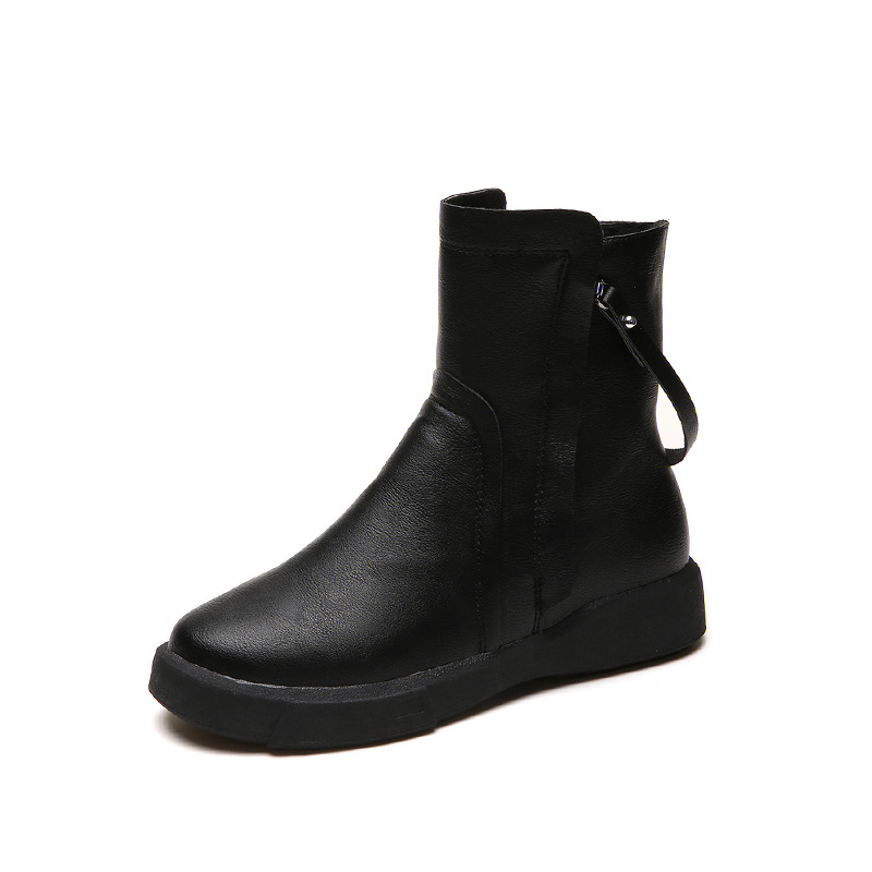 2019 autumn and winter new Martin boots Europe and the new tube non-slip casual womens boots black ljj 02162019 autumn and winter new Martin boots Europe and the new tube non-slip casual womens boots black ljj 0216
