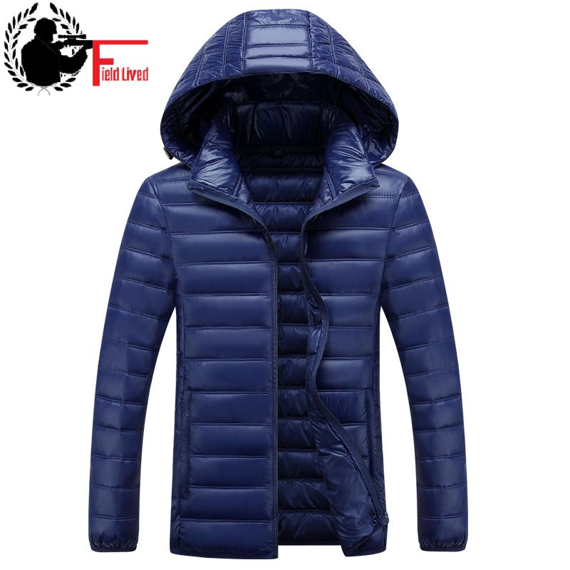 Winter Jacket Mens Hooded Windbreaker Parka Warm Cotton Padded Coat Casual Jacket Male Clothing Big Mens Size 4XL 5XL 6XL 7XL-in Parkas from Men's Clothing    1