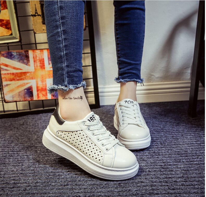 Free Shipping Spring and Autumn Men Canvas Shoes High Quality Fashion Casual Shoes Low Top Brand Single Shoes Thick Sole 7583 -  -  (3) -  -  -