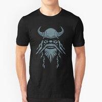 Tee Shirts Men S Blue Beard Viking Berserker Men Crew Neck Short Sleeve T Shirts Humor