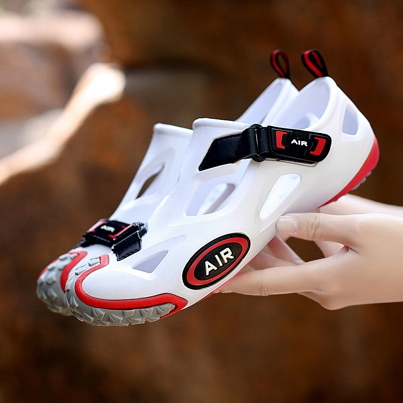 Image 5 - ZUNYU 2019 New Fashion Spring Summer Shoes Men Sneakers Sandals Outdoor Water Shoes Men Beach Sandals Mens Footwear Size 36 45-in Men's Sandals from Shoes