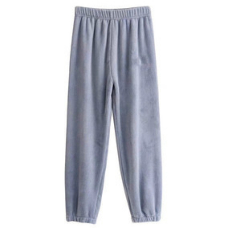 Women Pajama Pants Home Pants For Women Winter Flannel Pyjama Trousers Wear Ladies Sleeping Pants M-XXL 1X