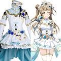 LoveLive! conjunto birthstone kotori minami kotori minami dress cosplay para mujeres niñas de halloween carnaval