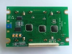 Industrial grade New 12864 Dot matrix KS0108 LCD screen 5V yellow 20pin display