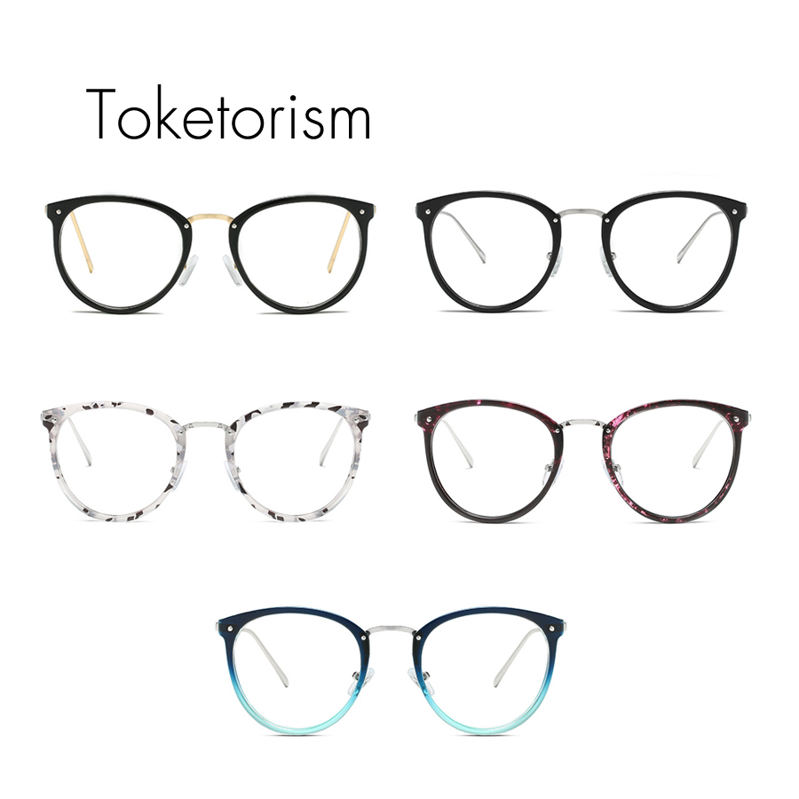 bf5e1efecf Toketorism trendy white floral eye glasses frames prescription eyewear  frame man woman-in Eyewear Frames from Apparel Accessories on  Aliexpress.com ...