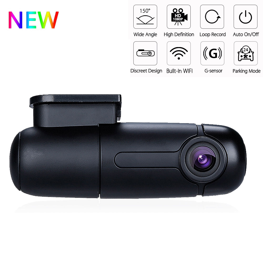 Blueskysea b1w Dash Cam Wifi Car Dvr Camera Recorder Full HD 1080P 360 Degrees Mini Drive