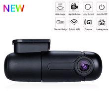 Blueskysea b1w регистраторы Wi Fi автомобильный Dvr камера регистраторы Full HD 1080 P 360 градусов Мини Drive Авто Карро Камара кош