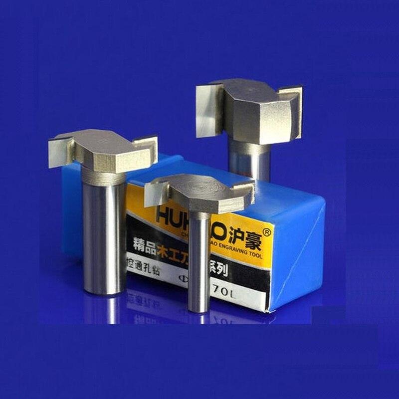 цена на 1pc Proffesional Grade Tungsten Carbide Woodworking T Shape Slot Engraving Flush Trim CNC Router Bit Mill Cutter  TD-Px1-4X5-16