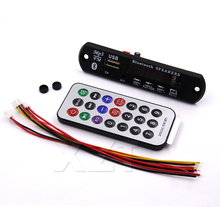 Newest Arrival 1pcs Wireless Bluetooth 12V MP3 WMA Decoder Board Audio Module USB TF Radio For Car accessories(China)