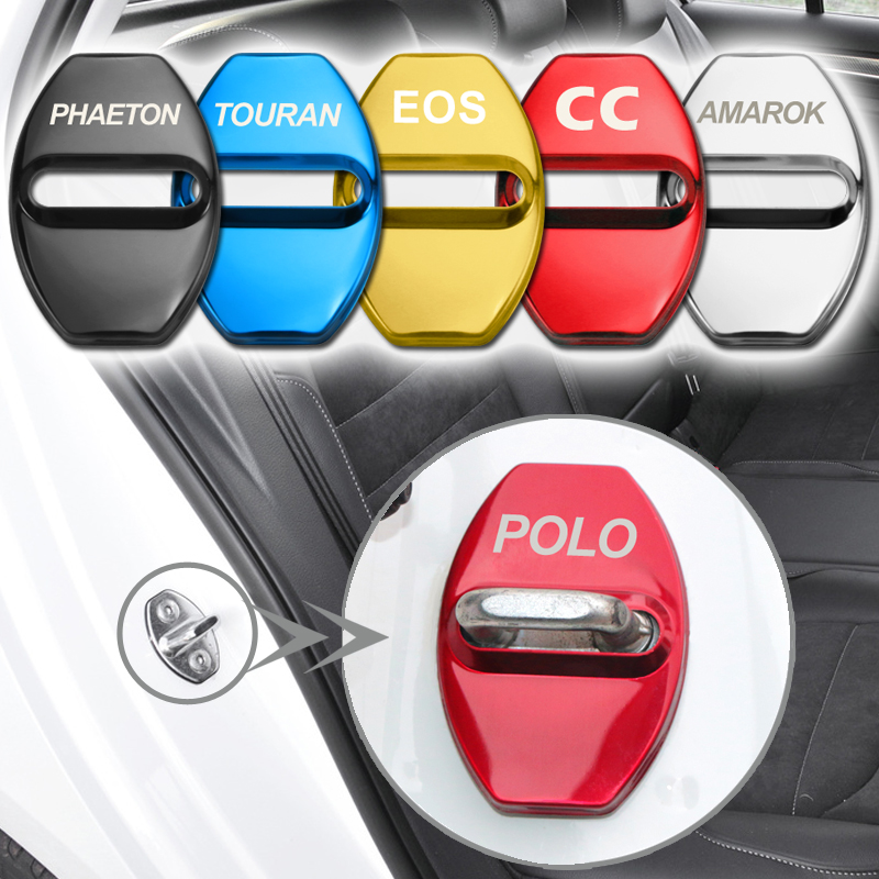 For VW T4 Transporter Central Locking Clips 4pcs Genuine  Part Brand New