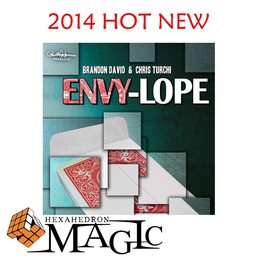 Paul Harris Présente Envylope gimmick par Brandon David et Chris Turchi-close-up rue magic card tricks produits