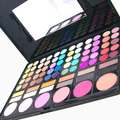 Fashion 78-Color Professional Cosmetic Makeup Eyeshadow + Lipgloss + Blusher Palette Kit Makeup Set