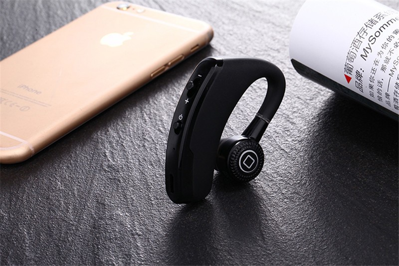Handsfree business bluetooth headset with mic voice control wireless bluetooth headphone for sports noise cancelling earphone (6)