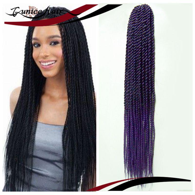 Thinner Thinner Braid Hair Crochet Hair Senegalese Twist Exentation